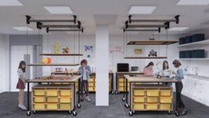 reformes per escoles Espais per experimentar, construir i fabricar.