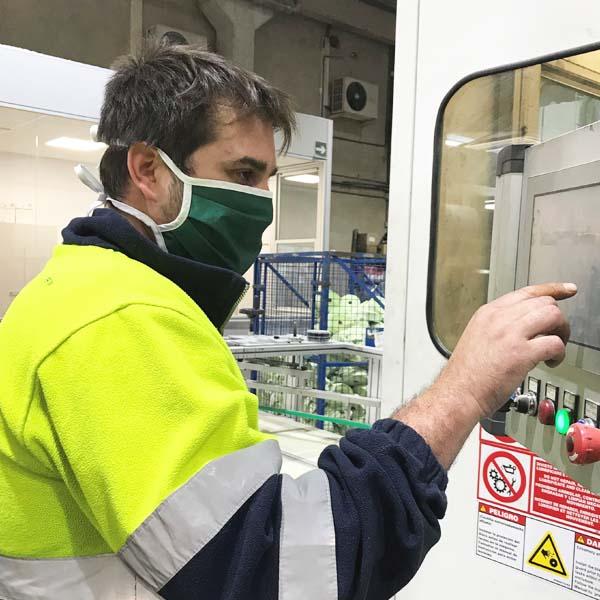 Mascaretes de protecció facial reutilitzables